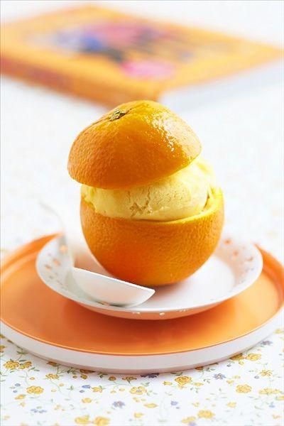橙子味雪糕