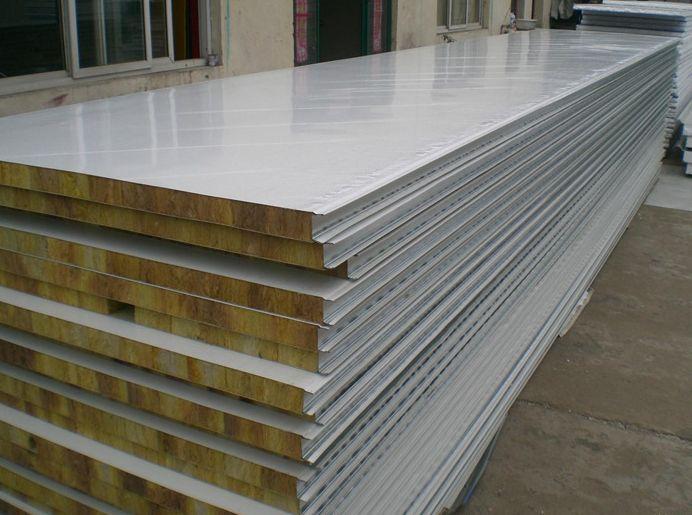 呼市彩钢岩棉板生产