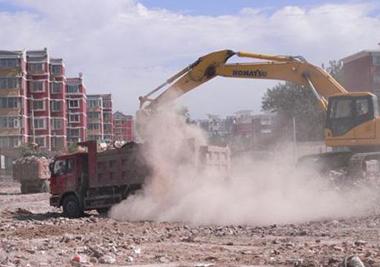 呼和浩特市强化各领域扬尘污染管控