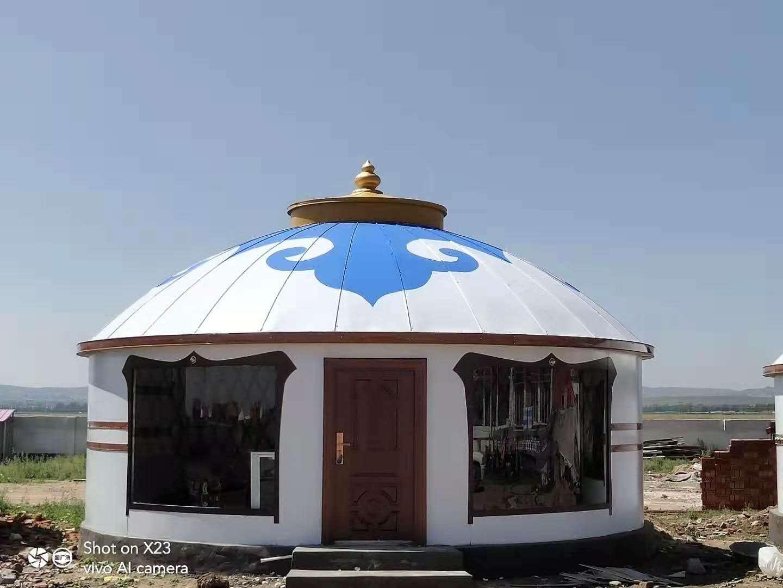 内蒙古蒙古包