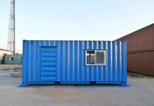 集装箱房的施工