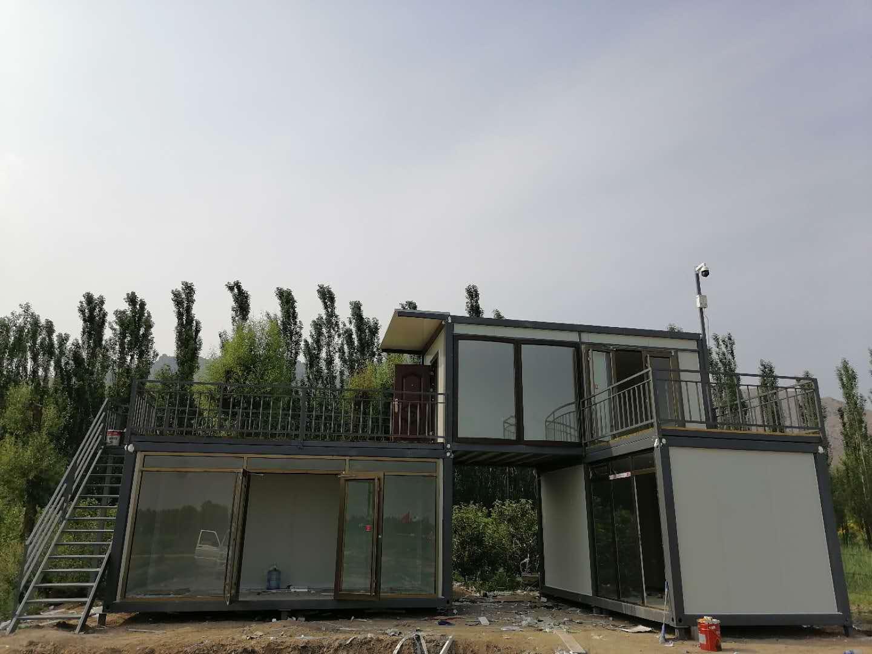 恒益对集装箱房屋的施工