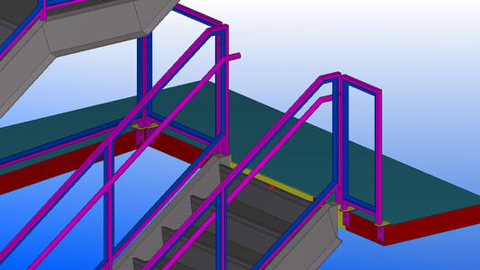 钢结构夹层的几种做法