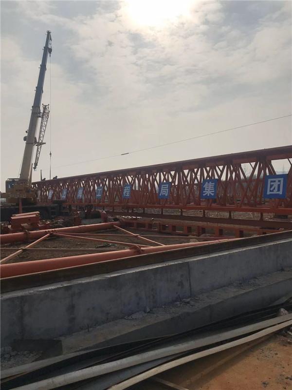 中铁上海局市政公司施工现场