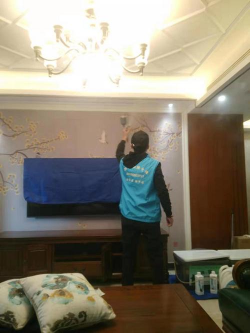 郑州市北郡三期室内装修污染治理