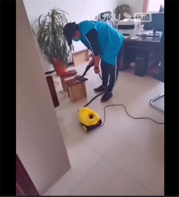 某单位办公室室内装修污染治理(视频)