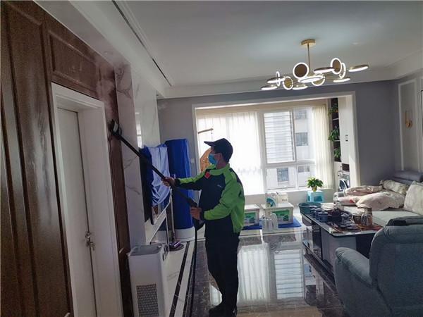 卫辉市水晶城室内装修污染治理中
