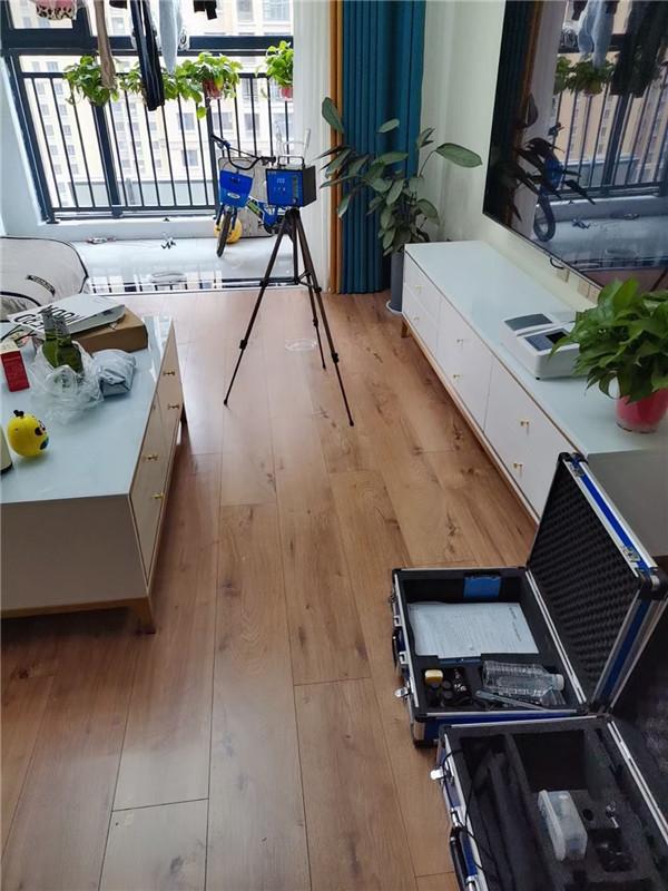 建业绿色家园室内装修污染检测