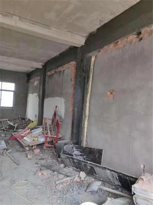 西安墙体加固工程案例