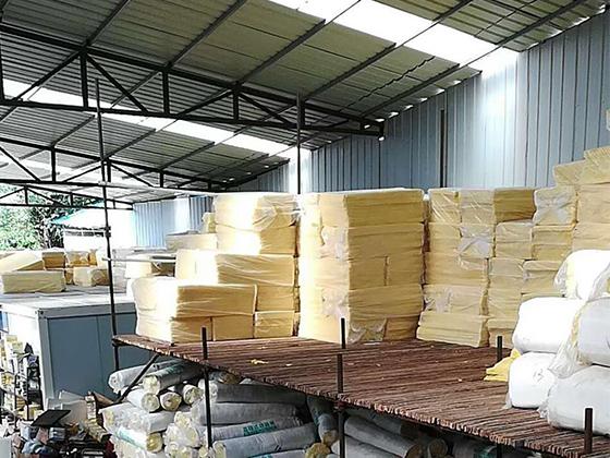 成都玻璃棉銷售廠家廠區展示