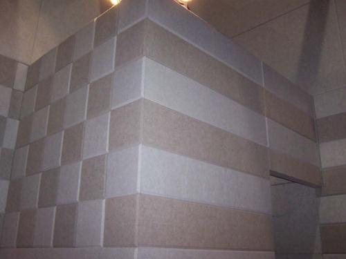 成都聚酯纖維吸音板安裝施工的七個正確方法