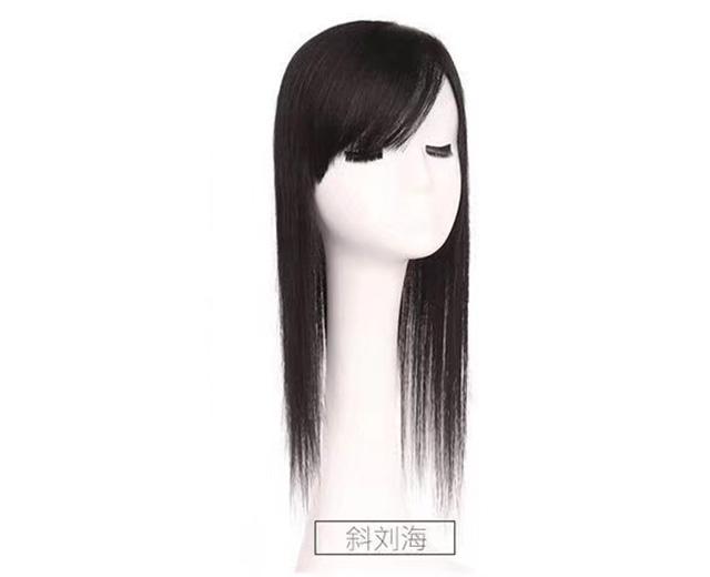 成都女士假发-女士齐刘海长发