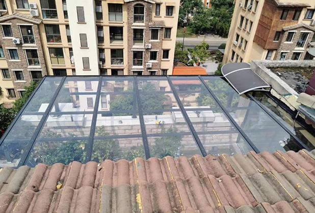 电动伸缩遮阳棚-成都伸缩雨棚法式固定棚定制