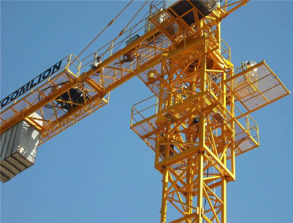 建筑工程施工塔式起重机_塔吊出租厂家