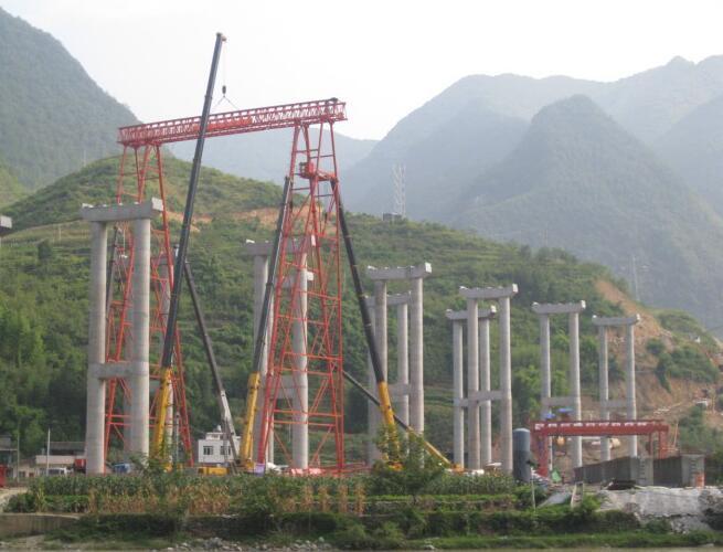 四川吊装工程-门机安装
