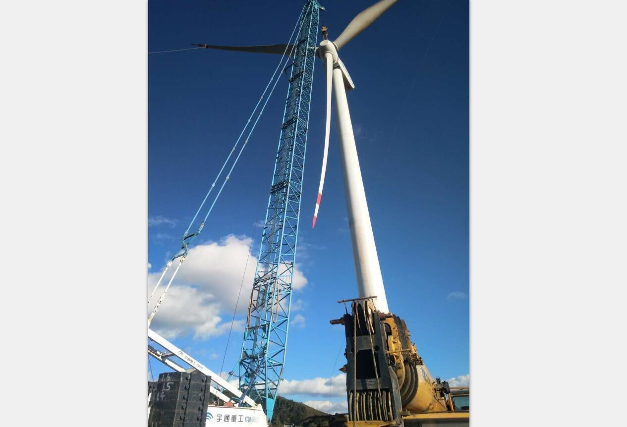 四川风电安装-会理风电吊装
