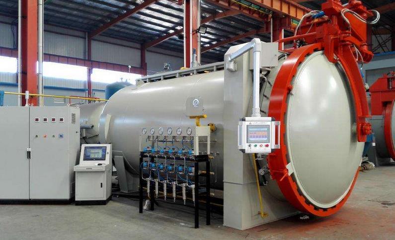 通过光纤光栅的方法实验研究热压罐成型工艺流程