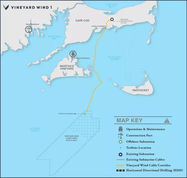 美国海上风电大跃进启动:..座大型项目获批