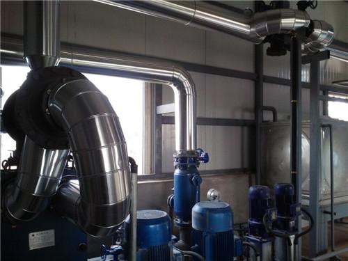 锅炉改造中的管路安装案例展示