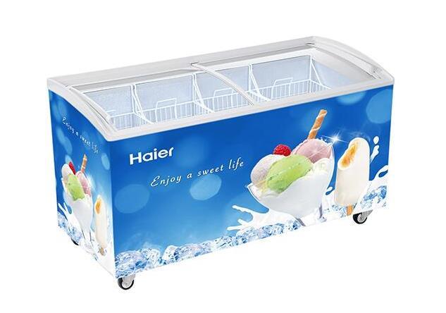 海尔SD-376冷冻柜