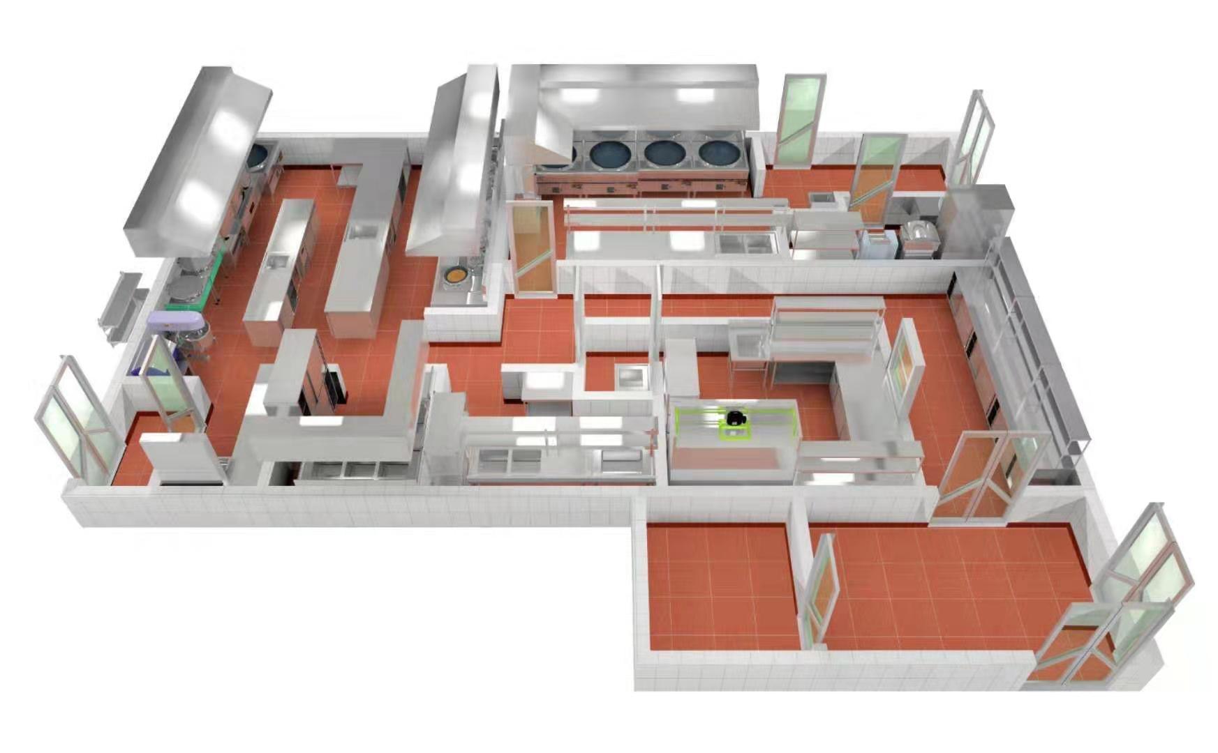 4D厨房设计