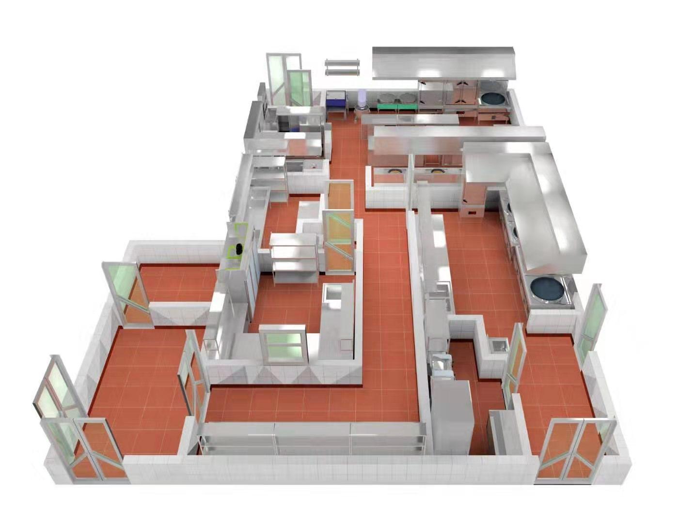 陕西厨房设计方案
