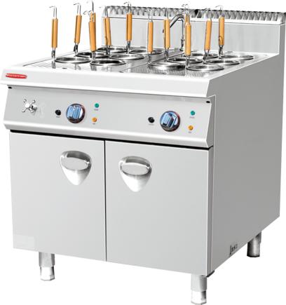 电/燃气煮面炉连柜座