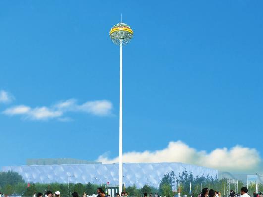 高杆灯安装案例