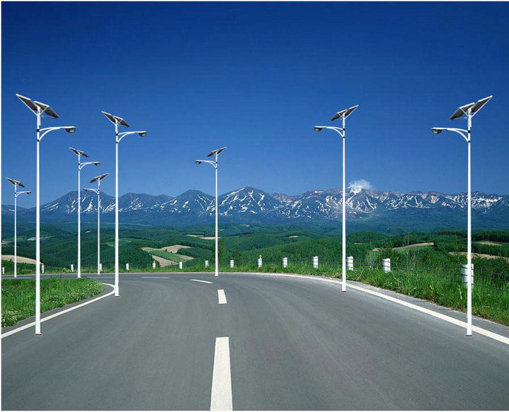 陕西太阳能路灯安装案例