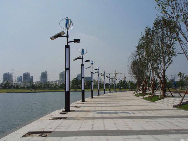 陕西景观灯安装案例