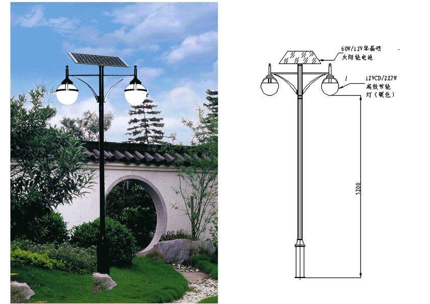 陕西庭院灯厂家