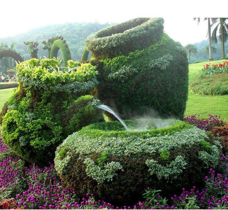 欣宝枫园林景观绿雕
