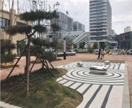 商洛市山阳县中心广场