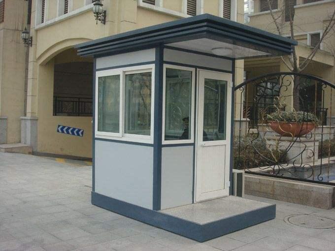 高铁站台岗亭