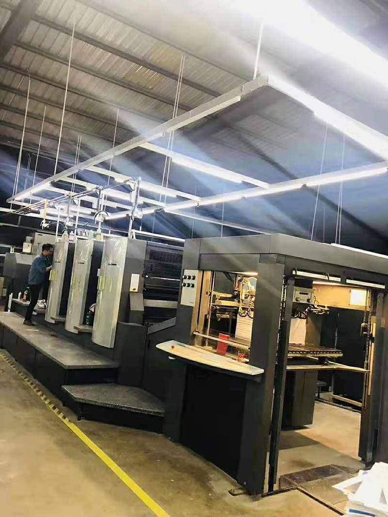 蘭州創世鴻翔廣告設計有限公司印刷設備展示