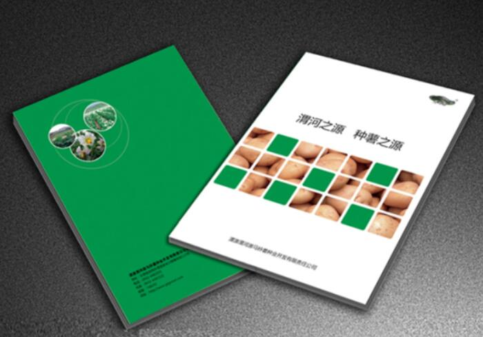 企业画册设计制作-渭河之源,种薯之源
