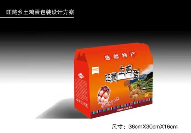 旺藏乡土鸡蛋包装设计方案
