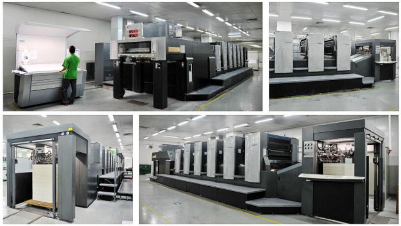 蘭州廣告公司印刷現場