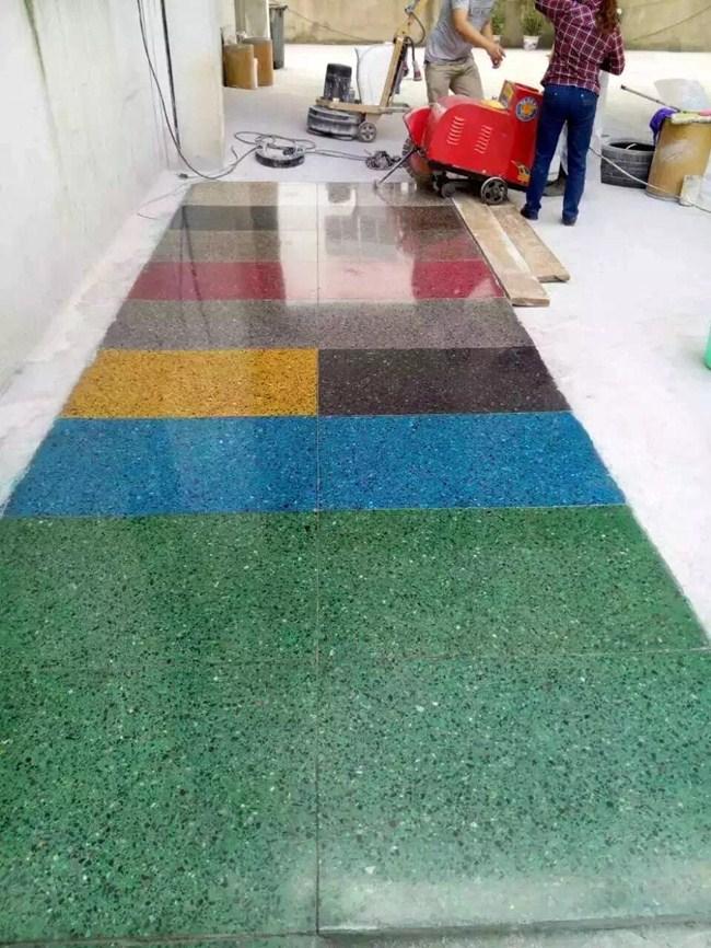 达州染色固化剂地坪