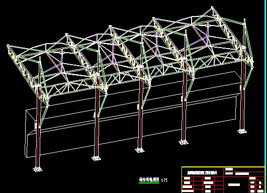成都膜结构-体育看台膜结构基础图