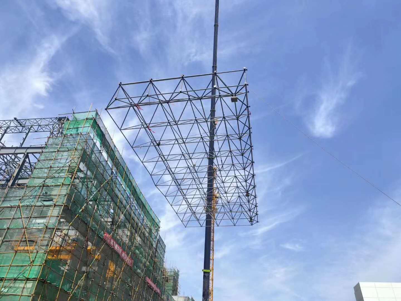 西藏网架结构合作案例