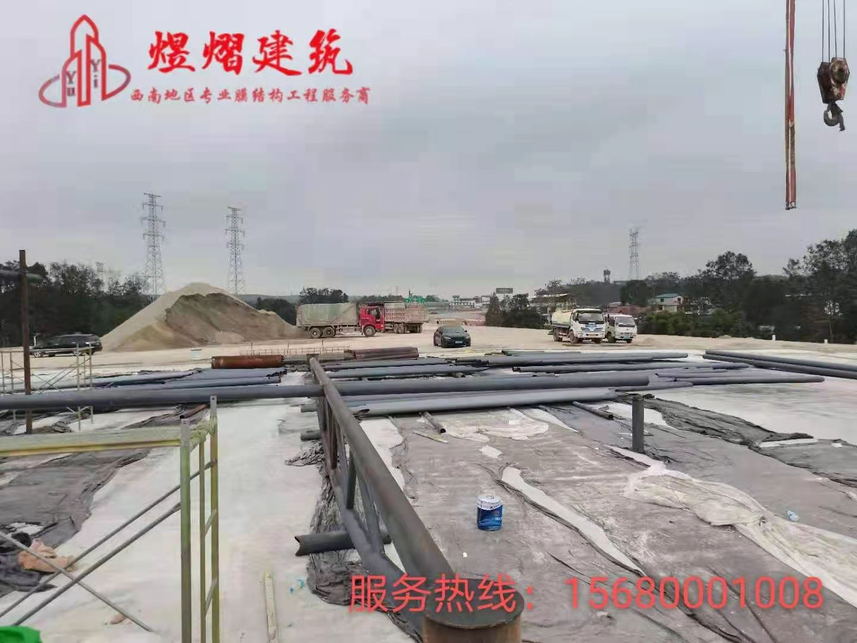 绵阳青莲高速公路收费站膜结构