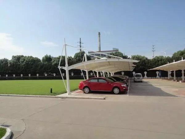 成都膜结构车棚客户