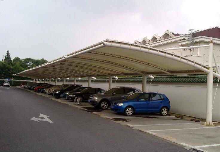 膜结构车棚的特点和使用注意事项
