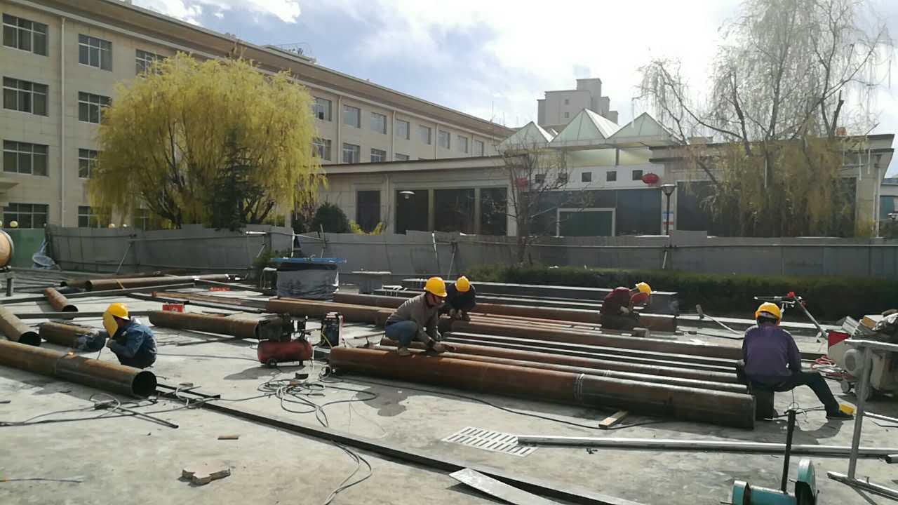 煜熠建筑安装有限公司进军西藏膜结构啦!