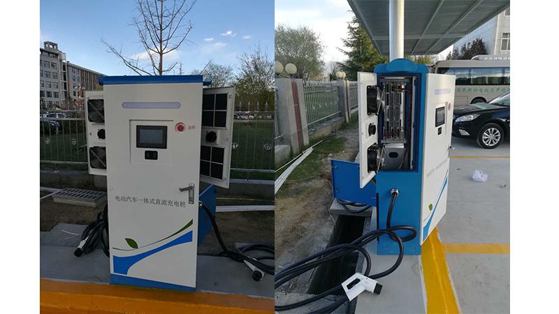 充电站车棚安装