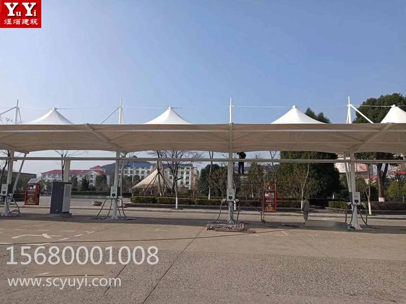 赤壁火车站充电桩工程