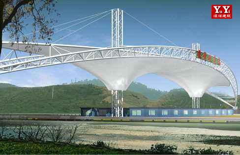 安徽交通设施膜结构