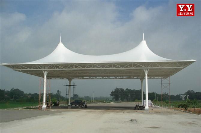合肥交通设施膜结构