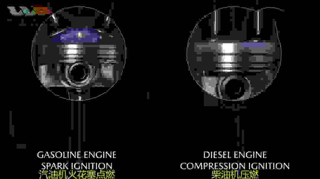 今天跟大家简单聊聊汽油机和柴油机之间主要的区别。
